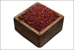 升に入った普通小豆